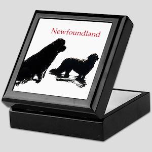 Newfoundland Dogs Keepsake Box
