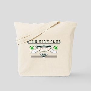 Denver Colorado Marijuana Tote Bag