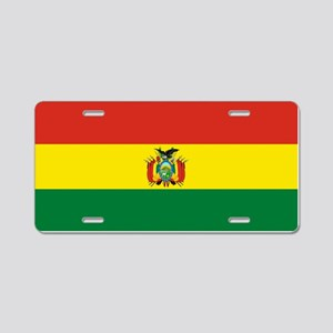 Flag of Bolivia Aluminum License Plate