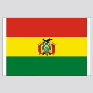 Flag of Bolivia Large Poster