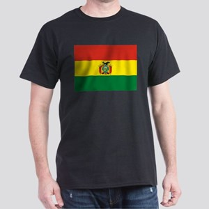 Flag of Bolivia Dark T-Shirt