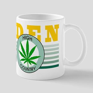 Golden Colorado Marijuana Mug
