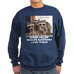 Triple Trouble Raccoon Custom Sweatshirt (dark)