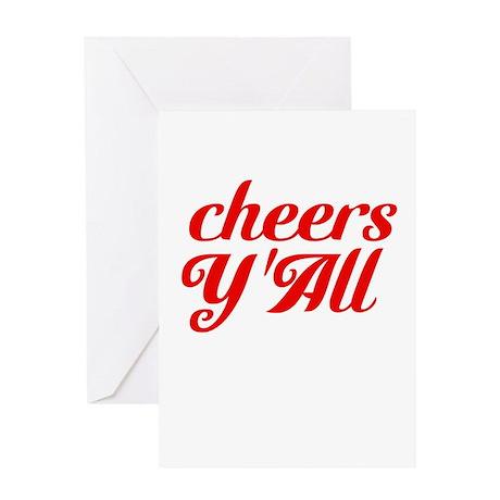 Cheers YAll Greeting Card