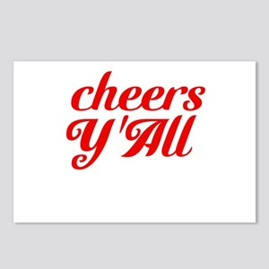 Cheers YAll Postcards (Package of 8)