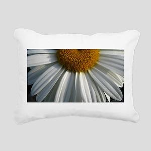 .half-daisy. Rectangular Canvas Pillow