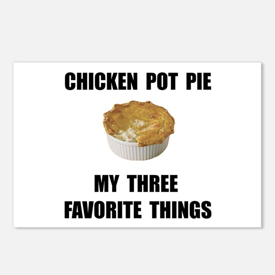 Chicken Pot Pie Postcards (Package of 8)