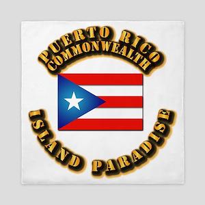 Puerto Rico - Commonwealth Queen Duvet