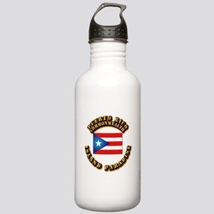 Puerto Rico - Commonwealth Stainless Water Bottle