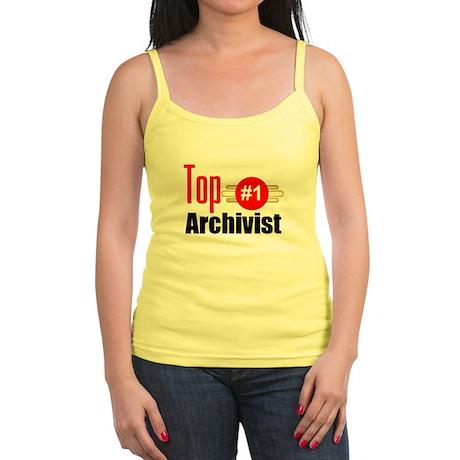 Top Archivist Jr. Spaghetti Tank