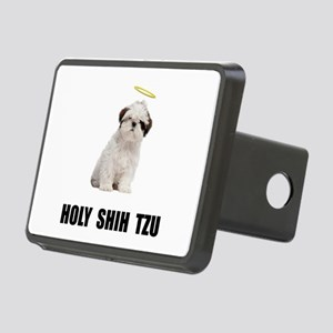 Holy Shih Tzu Rectangular Hitch Cover