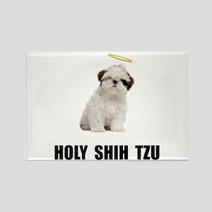 Holy Shih Tzu Rectangle Magnet (10 pack)