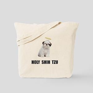 Holy Shih Tzu Tote Bag