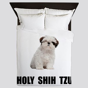 Holy Shih Tzu Queen Duvet