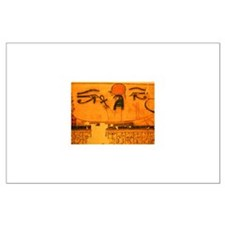RA in SOLAR BARQUE Large Poster