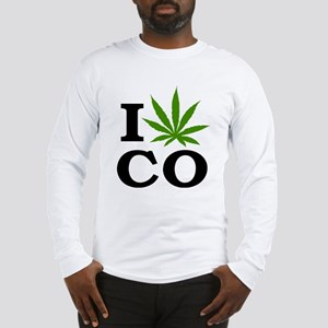 I Cannabis Colorado Long Sleeve T-Shirt