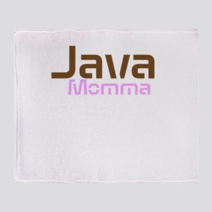 Java Momma Throw Blanket