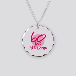 60 And Fabulous Necklace Circle Charm