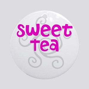 Sweet Tea Ornament (Round)