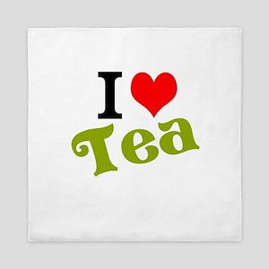 I Love Tea Queen Duvet