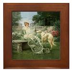 The Garden Framed Tile