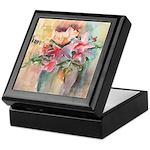 Vase of Flowers Keepsake Box