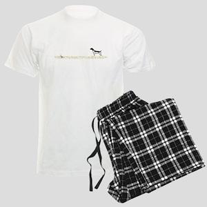 Liver Tick GSP on Chukar Men's Light Pajamas