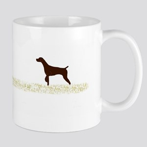Solid Liver GSP on Chukar Mug