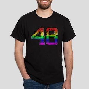 48, Gay Pride, Dark T-Shirt