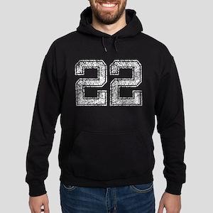 22, Vintage Hoodie (dark)