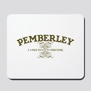 Pemberley A Large Estate In Derbyshire Mousepad