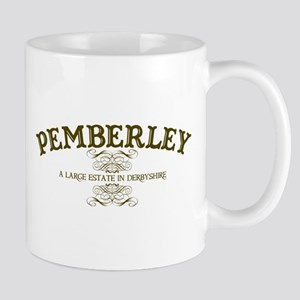 Pemberley A Large Estate In Derbyshire Mug