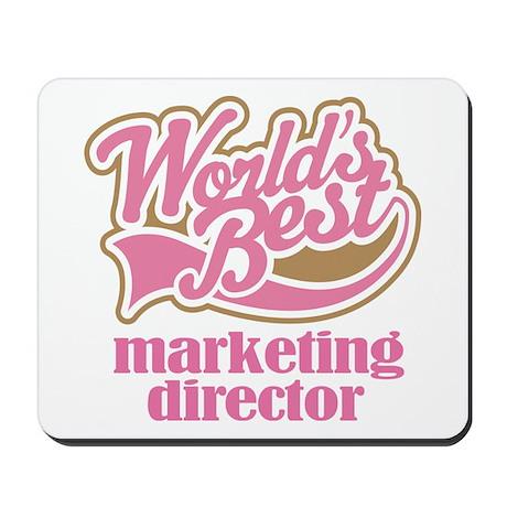 Marketing Director (Worlds Best) Mousepad