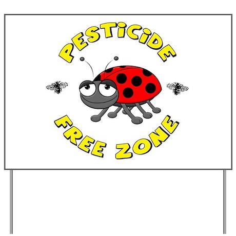 Pesticide Free Zone Yard Sign