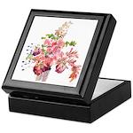 Antique Flowers Keepsake Box