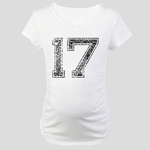 17, Vintage Maternity T-Shirt