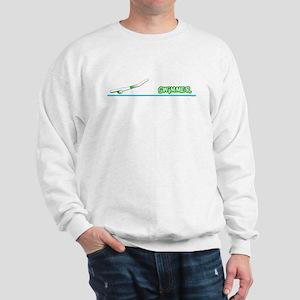 Swimmer (Boy) Green Suit Sweatshirt