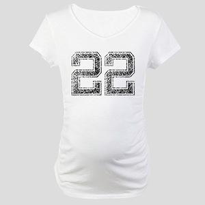 22, Vintage Maternity T-Shirt