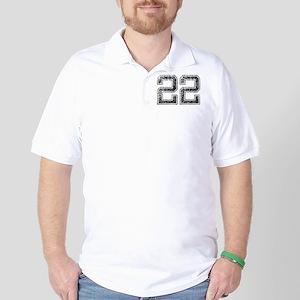22, Vintage Golf Shirt