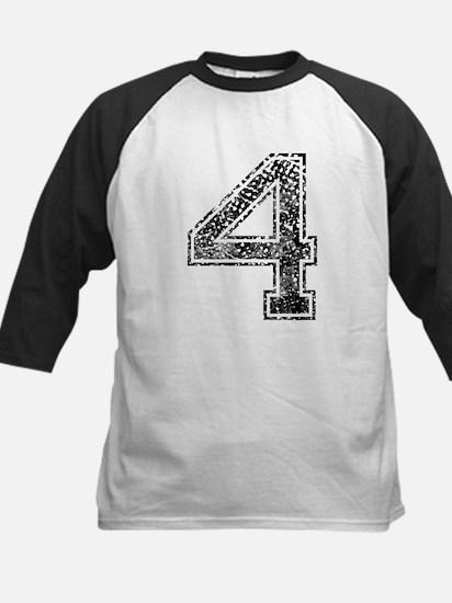 4, Vintage Kids Baseball Jersey