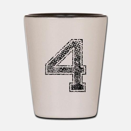 4, Vintage Shot Glass
