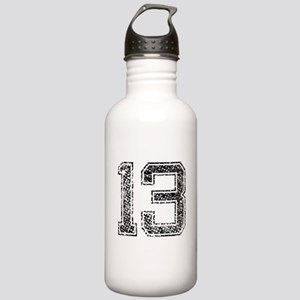 13, Vintage Stainless Water Bottle 1.0L