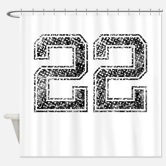 22, Vintage Shower Curtain