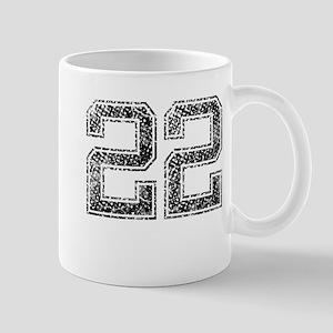 22, Vintage Mug