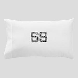 69, Vintage Pillow Case
