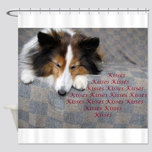 Kisses Shower Curtain