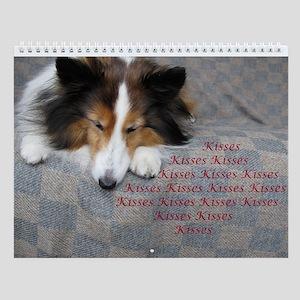 Kisses Wall Calendar