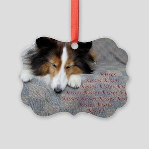 Kisses Picture Ornament