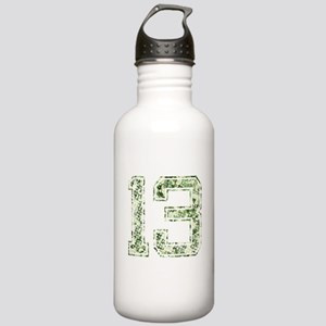 13, Vintage Camo Stainless Water Bottle 1.0L