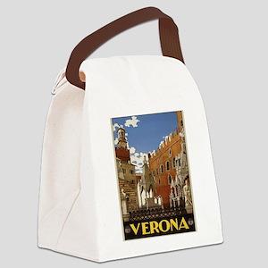 Verona Italy Canvas Lunch Bag